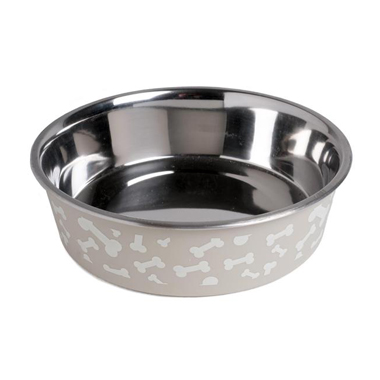 Petface Bella Bowl with White Bones