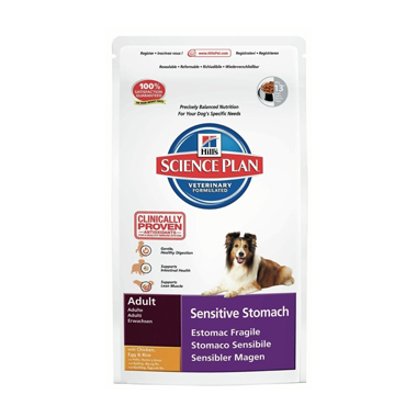 Hill's Science Plan Canine Adult Sensitive Stomach Chicken, Egg & Rice