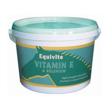 Equivite Vitamin E + Selenium Powder