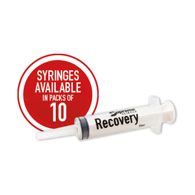 Supreme Recovery Syringe