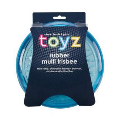 Petface Toyz Dog Frisbee Rubber Dog Toy