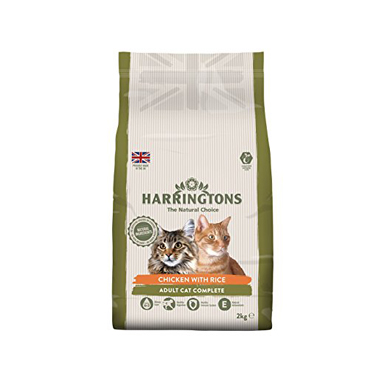 Harringtons Natural Cat Food Chicken & Rice