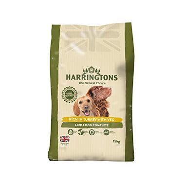 Harringtons Natural Dog Food Turkey & Vegetables