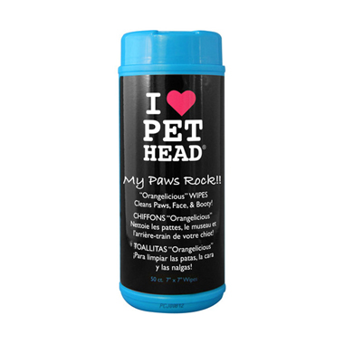Pet Head My Paws Rock Dog Wipes