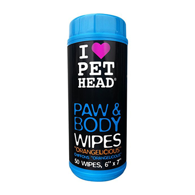 Pet Head Paw And Body Dog Wipes
