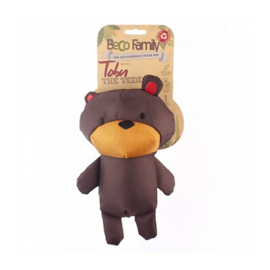 Beco Plush Dog Toy Toby Teddy