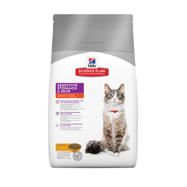 Hill's Science Plan Feline Adult Sensitive Stomach & Skin With Chicken