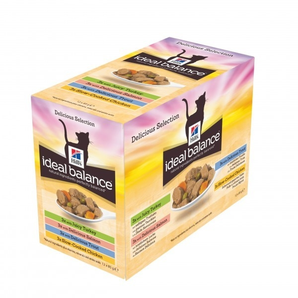 Hill's Ideal Balance Feline Adult Multipack