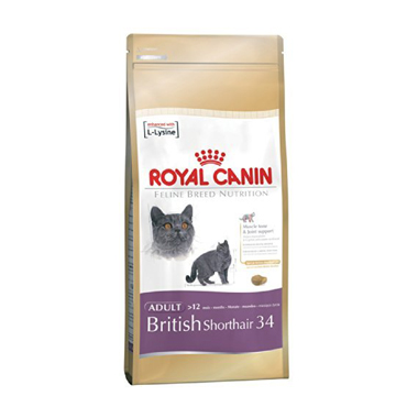 Royal Canin Breed Health Nutrition British Shorthair 34