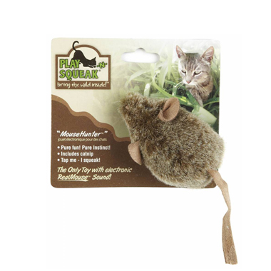 Play N Squeak  Mouse Hunter Cat Toy