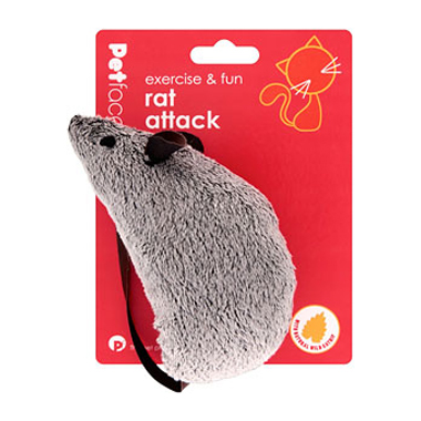 Petface Rat Attack Cat Toy