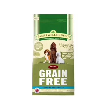 James Wellbeloved Adult Dog Fish & Vegetable Grain Free