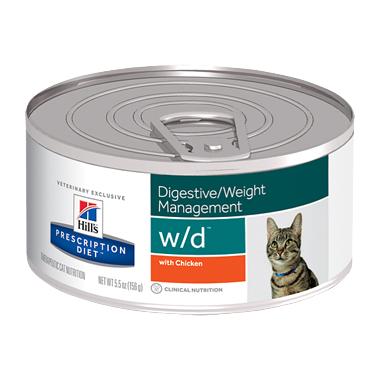 Hills Prescription Diet W/D Feline Minced