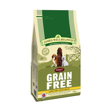 James Wellbeloved Adult Dog Lamb & Vegetable Grain Free