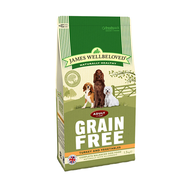James Wellbeloved Adult Dog Turkey & Vegetable Grain Free