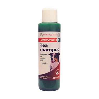 Vetzyme Dog Flea Shampoo