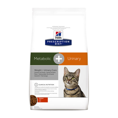 Hill's Prescription Diet Feline Metabolic + Urinary