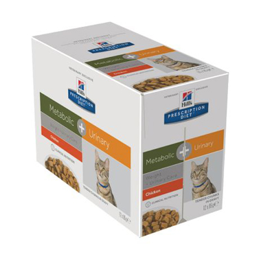 Hill's Prescription Diet Feline Metabolic + Urinary Wet