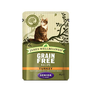 James Wellbeloved Senior Cat Turkey Wet