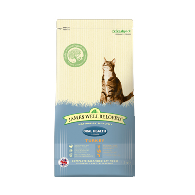 James Wellbeloved Turkey Oral Health Cat Food