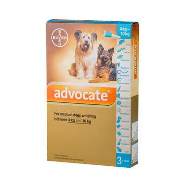 Advocate Spot On for Dogs - 100 (4-10kg)