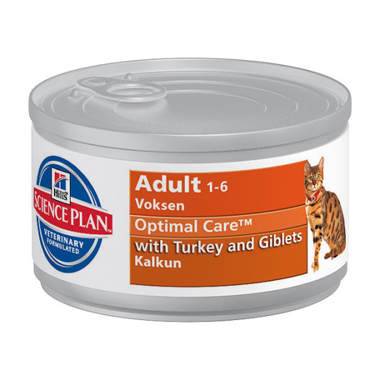Hills Science Plan Feline Adult With Turkey