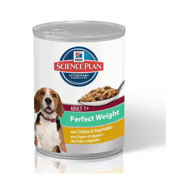 Hills Science Plan Canine Adult Perfect Weight Chicken & Veg