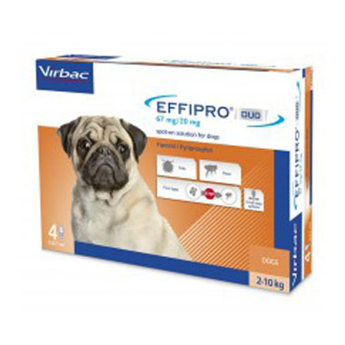 Effipro Spot On DUO Small Dog