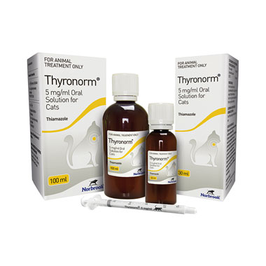 Thyronorm 5mg/ml Oral Solution For Cats