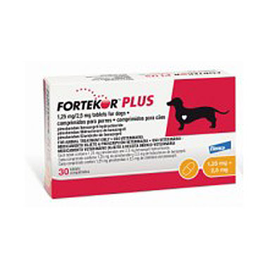 Fortekor Plus Tablets  1.25mg/2.5mg