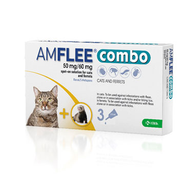 Amflee Combo 50mg/60mg For Cats & Ferrets
