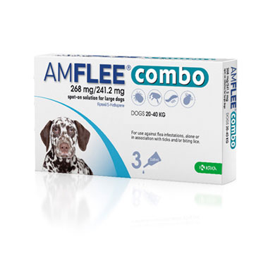 Amflee Combo 268mg/2412mg For Large Dogs