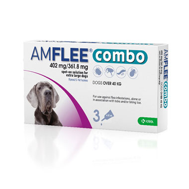 Amflee Combo 402mg/361.8mg For Extra Large Dogs
