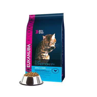 Eukanuba Adult Top Condition Rich In Chicken 7+ Cat Food