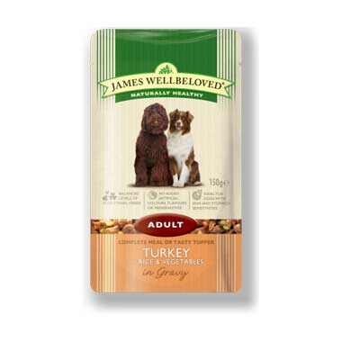 James Wellbeloved Adult Dog Wet Food Turkey And Rice
