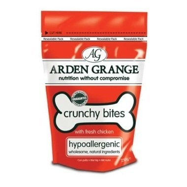 Arden Grange Crunchy Bites Dog Treats Chicken
