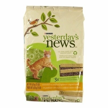 Yesterdays News Recycled Newspaper Cat Litter