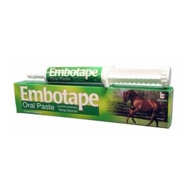 Embotape Horse Wormer