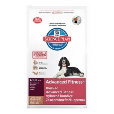 Hills Science Plan Canine Adult Advanced Fitness Lamb & Rice