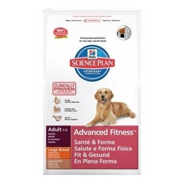 Hill's Science Plan Canine Adult Advanced Fitness Large Breed Lamb and Rice