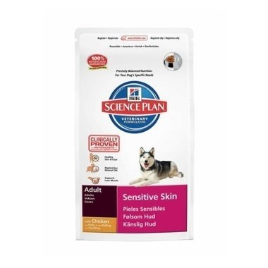 Hills Science Plan Canine Adult Sensitive Skin Chicken