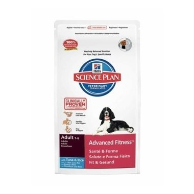 Hills Science Plan Canine Adult Advanced Fitness With Tuna And Rice