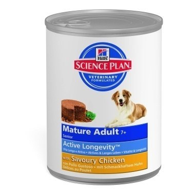 Hills Science Plan Canine Mature Adult/Senior 7+ Wet Chicken