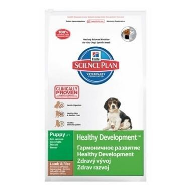 Hills Science Plan Canine Puppy Healthy Development Lamb and Rice