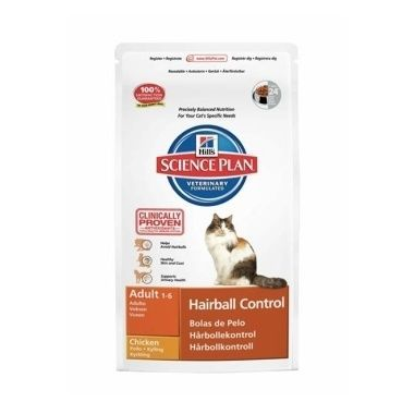 Hill's Science Plan Feline Adult Hairball Control Chicken
