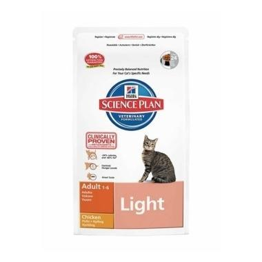 Hills Science Plan Feline Adult Light Chicken