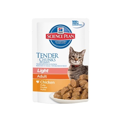 Hills Science Plan Feline Adult Light Wet Chicken