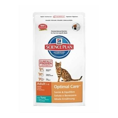 Hills Science Plan Feline Adult Optimal Care Tuna