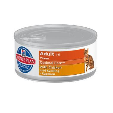 Hills Science Plan Feline Adult Wet Chicken