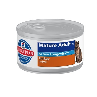 Hills Science Plan Feline Mature Adult/Senior 7+ Wet Turkey